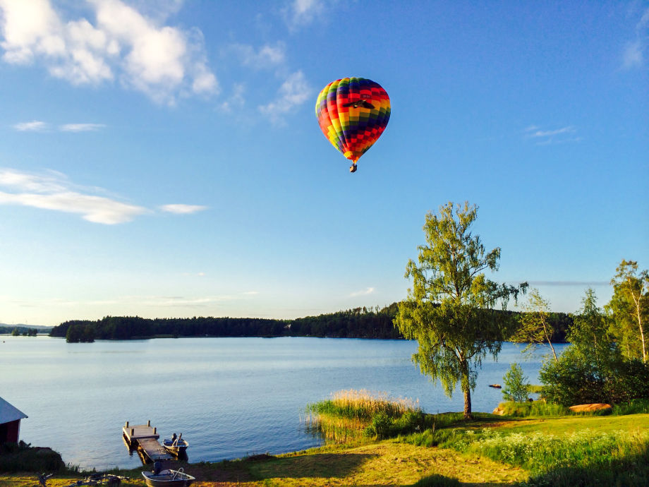Ballonfahren bei uns in Gränna am See Bunn