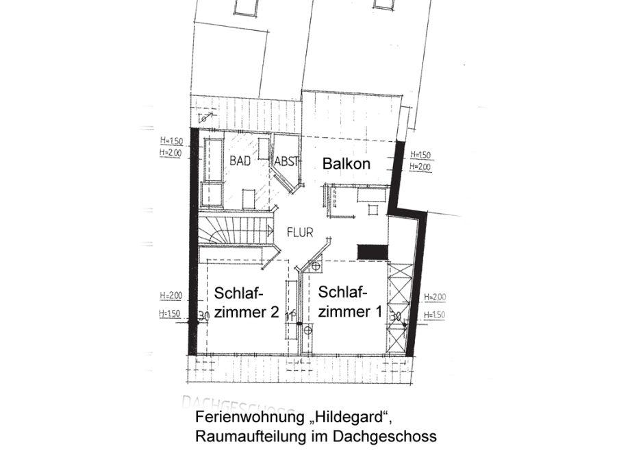 Badezimmer Grundriss Dachgeschoss : Grundriss Dachgeschoss Grundriss 1 ...