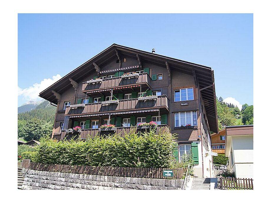 Die Ferienwohnung Alpenglühn im Sommer