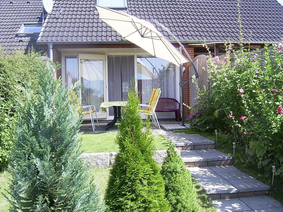 Terrasse des Ferienhauses Jacobsen-Pelzerhaken