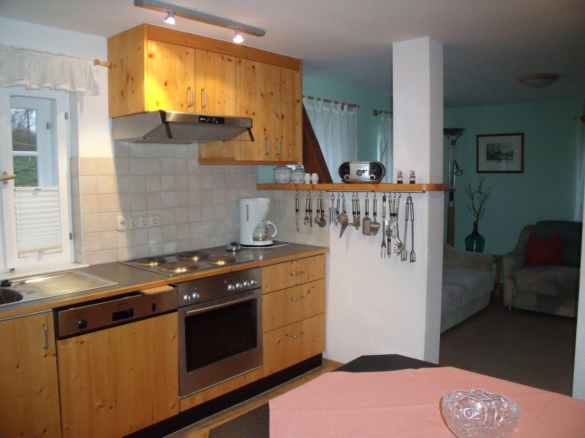 Ferienwohnung im haus herta im elbsandsteingebirge for Komplette küche