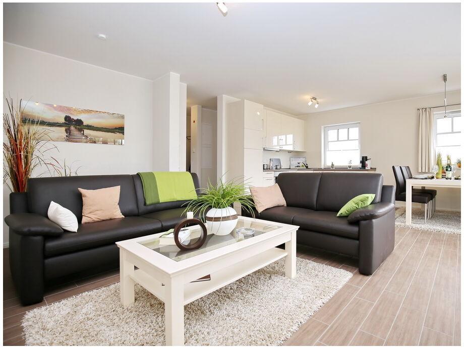 Muster / Blick in den Wohnbereich