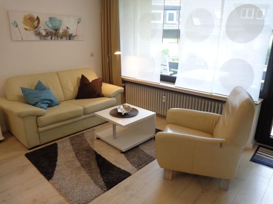 Wohnbereich (Sitzmöbel in Echtleder)