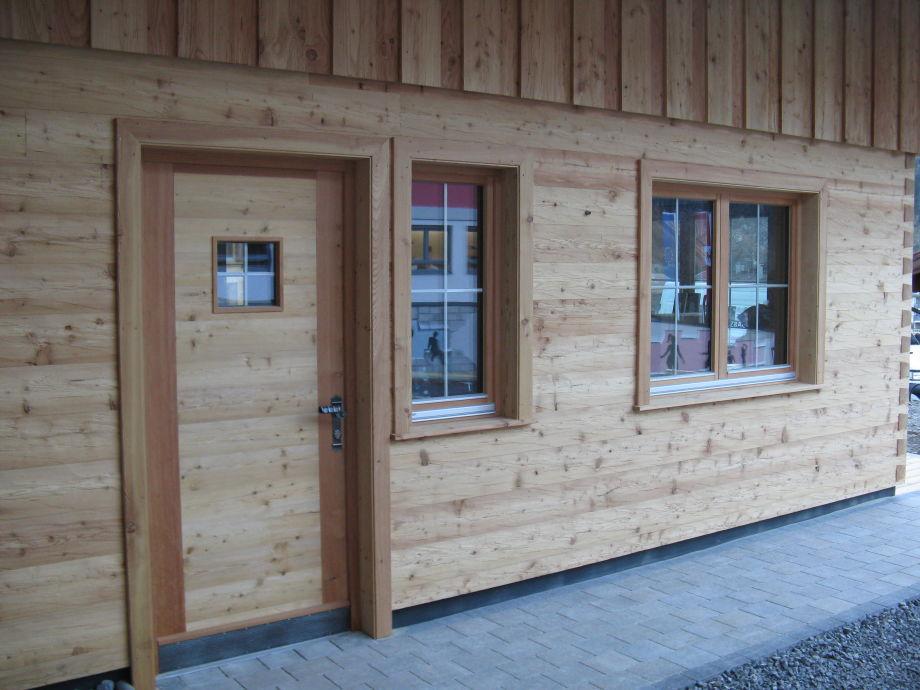 Ferienhütte - Eingang