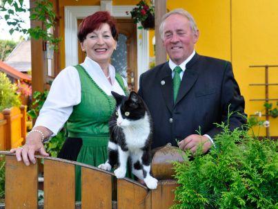 Ihr Gastgeber Marianne Hinterdorfer