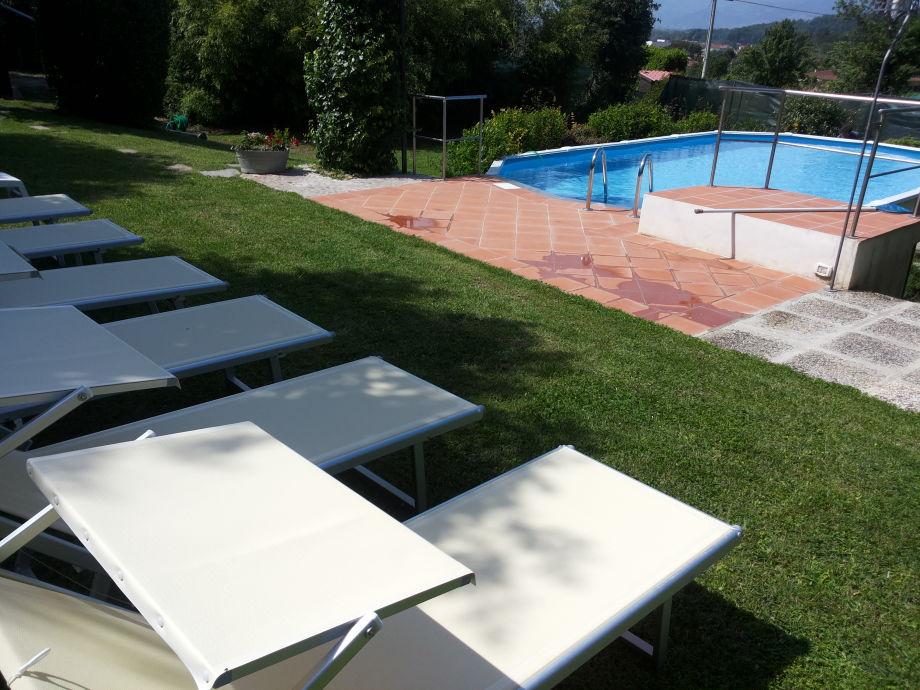 Pool  9,60 m x 4,80 m, Tiefe 120 cm