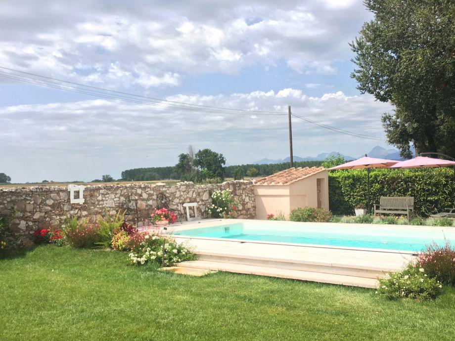 Außenaufnahme in the Villa Elisa