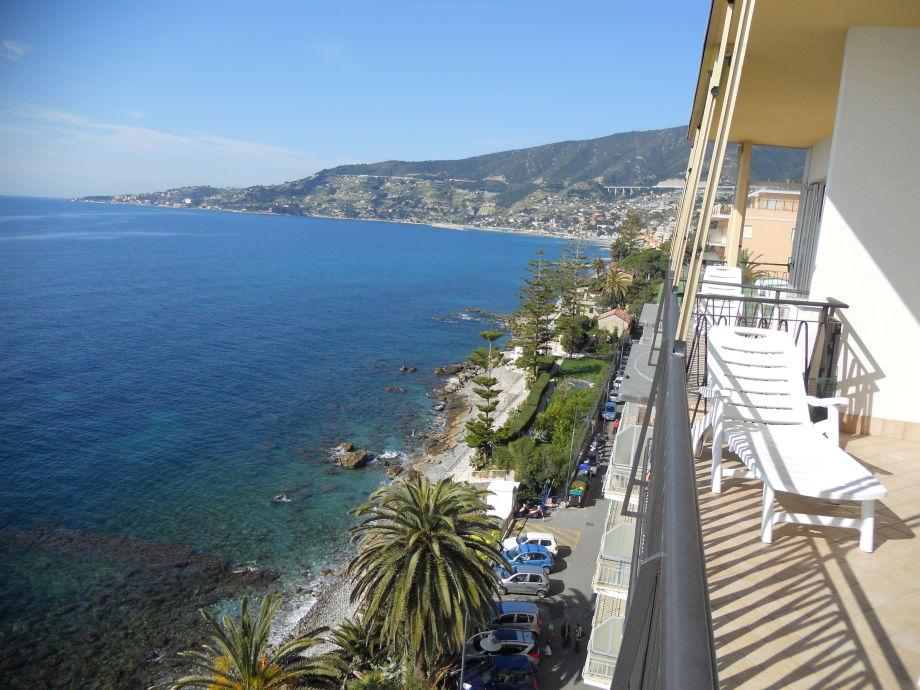 Meersicht von Balkon