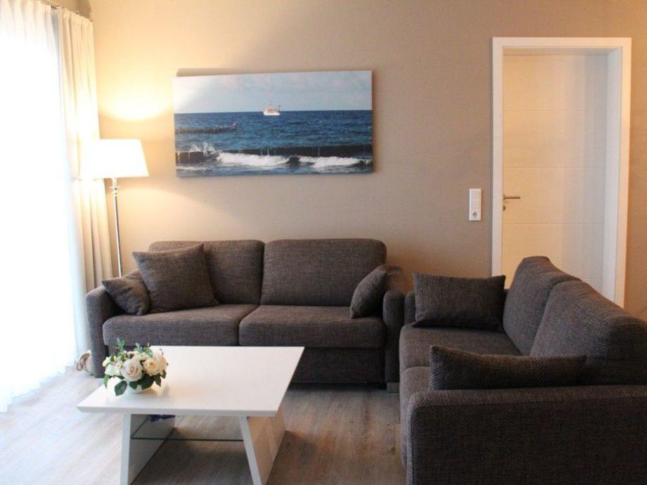 Gemütliche Sofas im Wohnzimmer