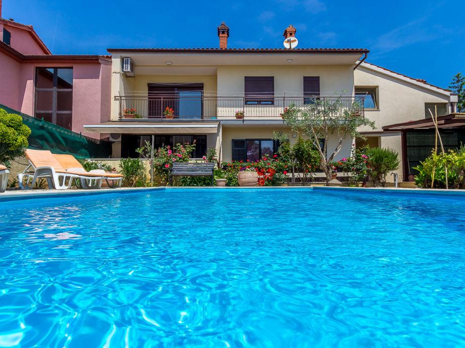 Die Ferienwohnung mit Pool