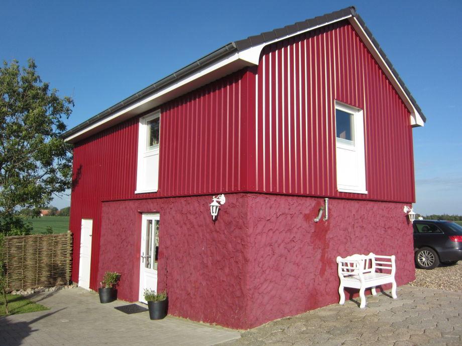 Das Rote Atelierhaus auf Nordstrand