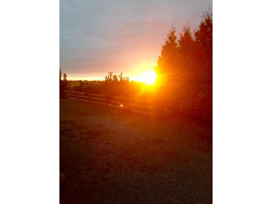 Sonnenaufgang über Ihrem Ferienhaus