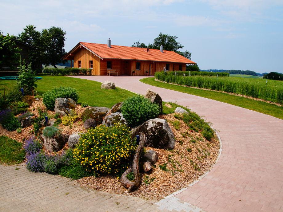 Außenaufnahme Ferienhaus auf dem Bauernhof Schiegl
