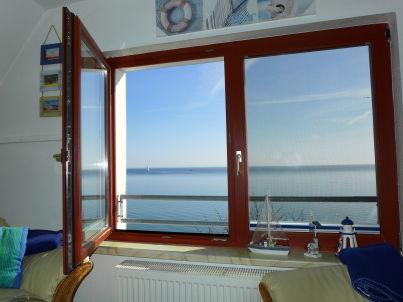Sonnendeck im Haus Alte Bootswerft