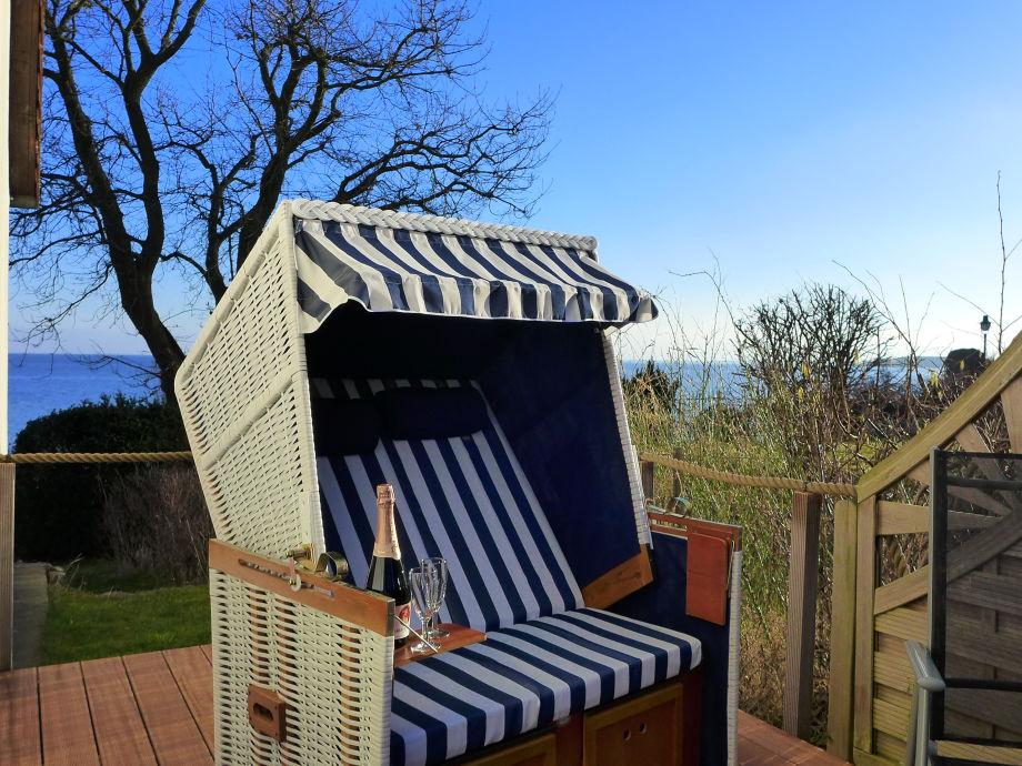 Strandkorb auf Ihrer Terrasse