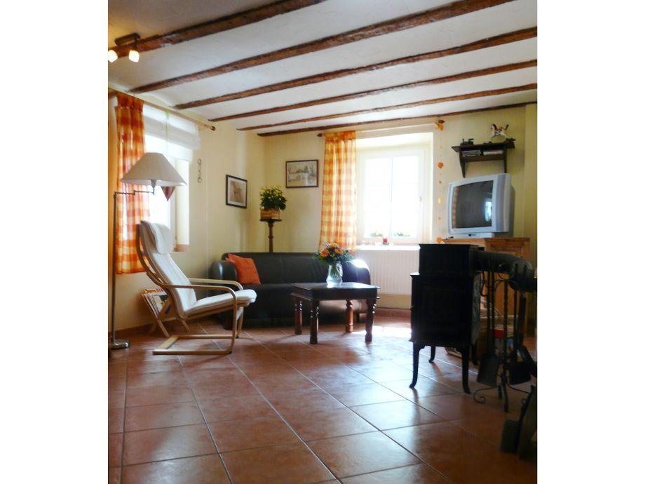 wohnzimmer ofen heizung:Ferienwohnung im Haus SaJa, Nordeifel, Hellenthal, Nationalpark Eifel