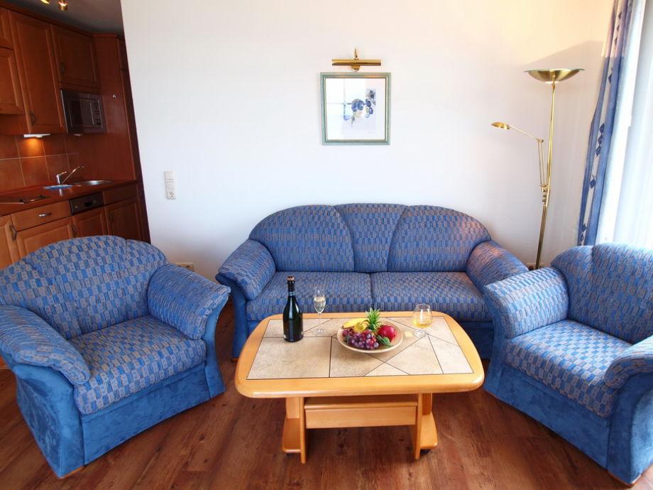 Wohnbereich mit gemütlicher Sitzgarnitur