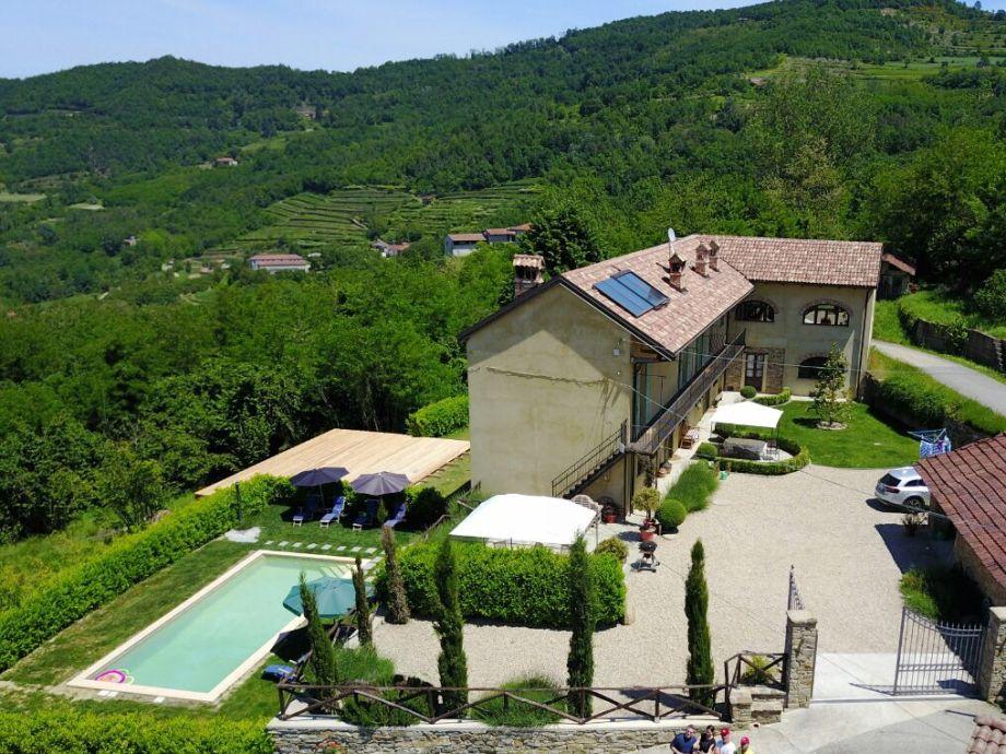 Außenaufnahme Villa Bergolo