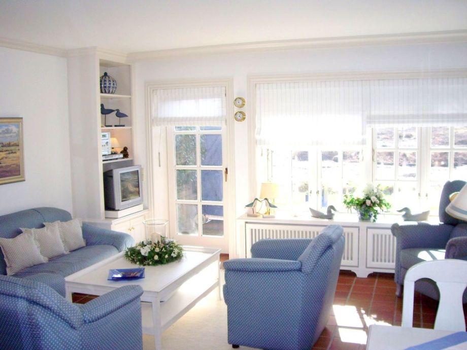 Sonnen-und lichtdurchfluteter Wohnbereich
