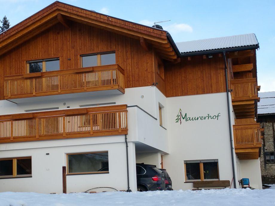 Maurerhof im Winter