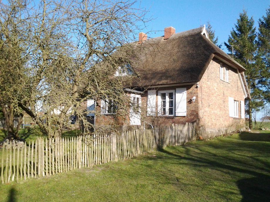 Ferienhaus Reetdachhaus am Teich Ostsee Frau Dr Doris