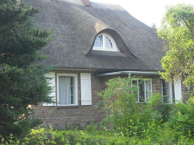 Ferienhaus Reetdachhaus am Teich