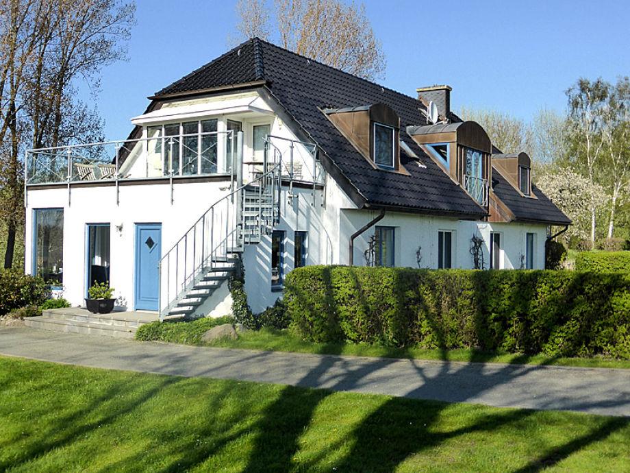 Außenaufnahme Haus am Spykersee