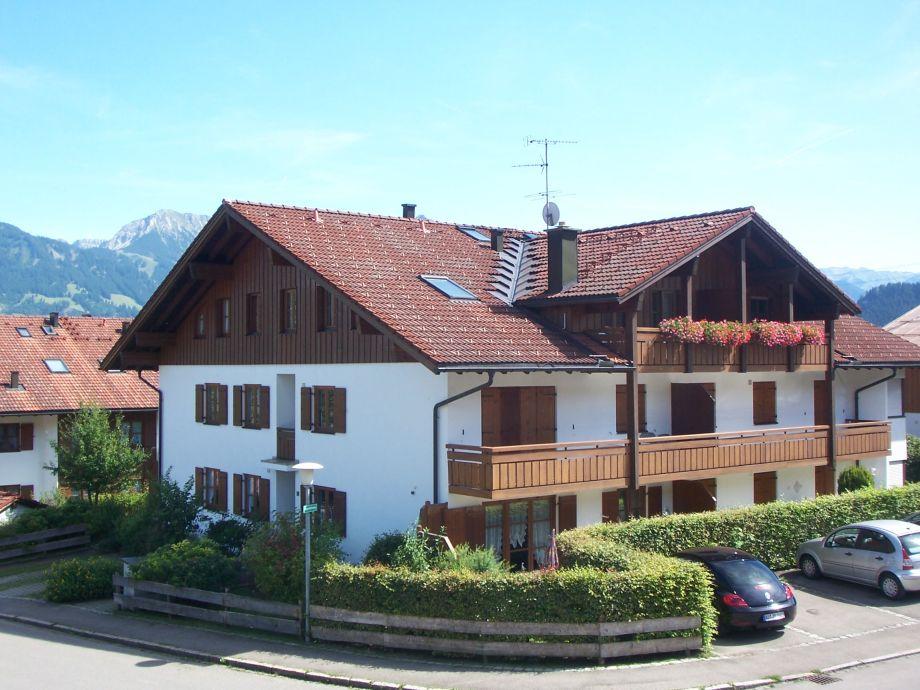 Haus Bergidyll mit Ferienwohnung Adlerhorst