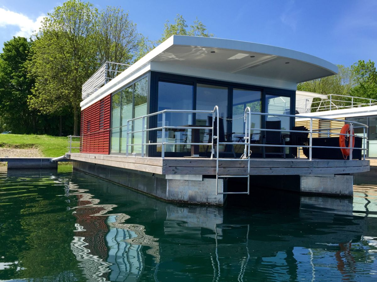 Hausboot seehaus xanten xanten firma leppin for Ferien am see