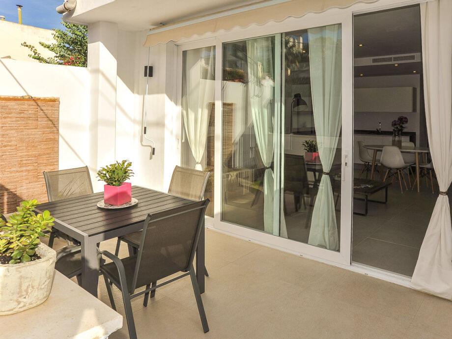 15 m² Terrasse