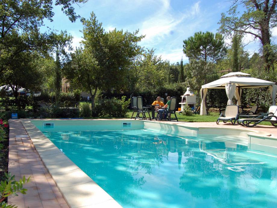 Der Pool von San Giusto