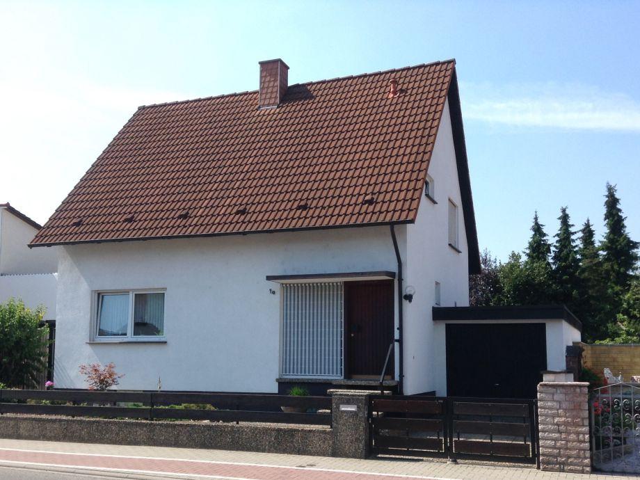 """Ansicht Ferienhaus """"Zur Weinrebe"""""""