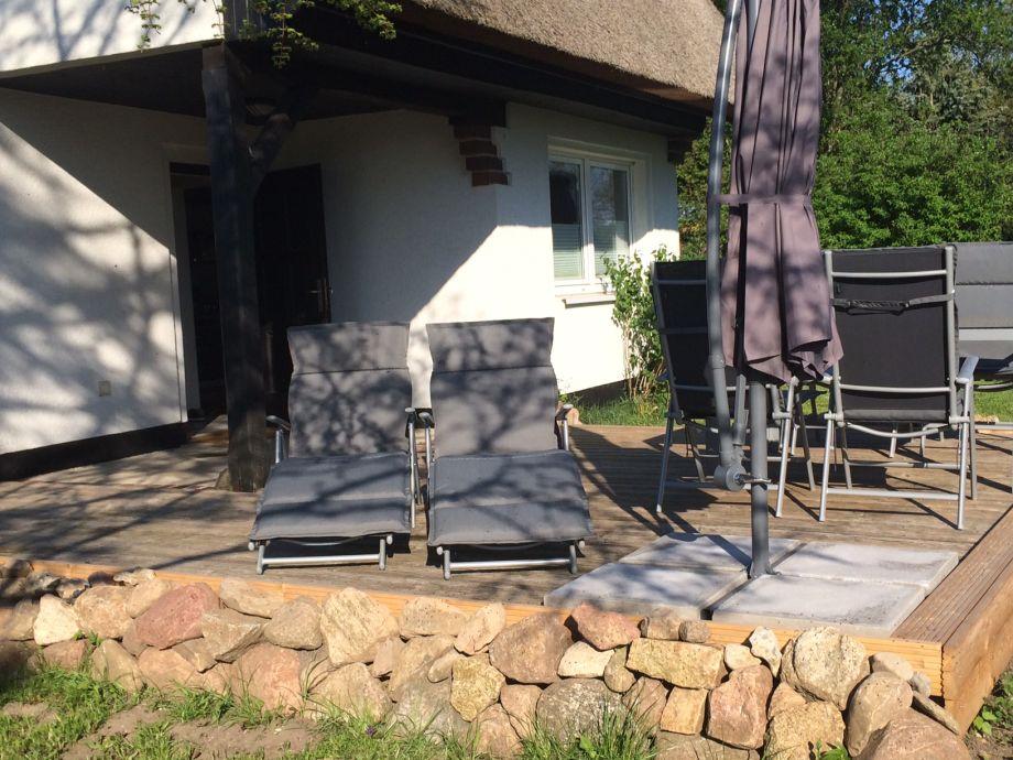 Terrasse zum Entspannen - Ferienhaus Mecheldorf