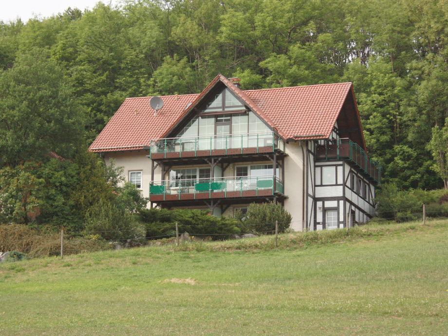 Außenaufnahme Ferienhaus Abtrsoda