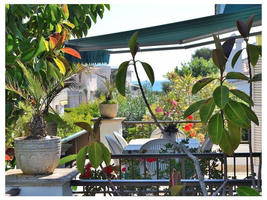Die schöne Ferienwohnung mit großem Balkon