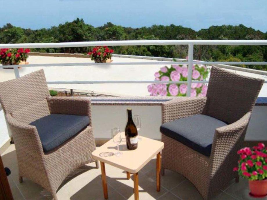 Balkon mit bestem Meerblick