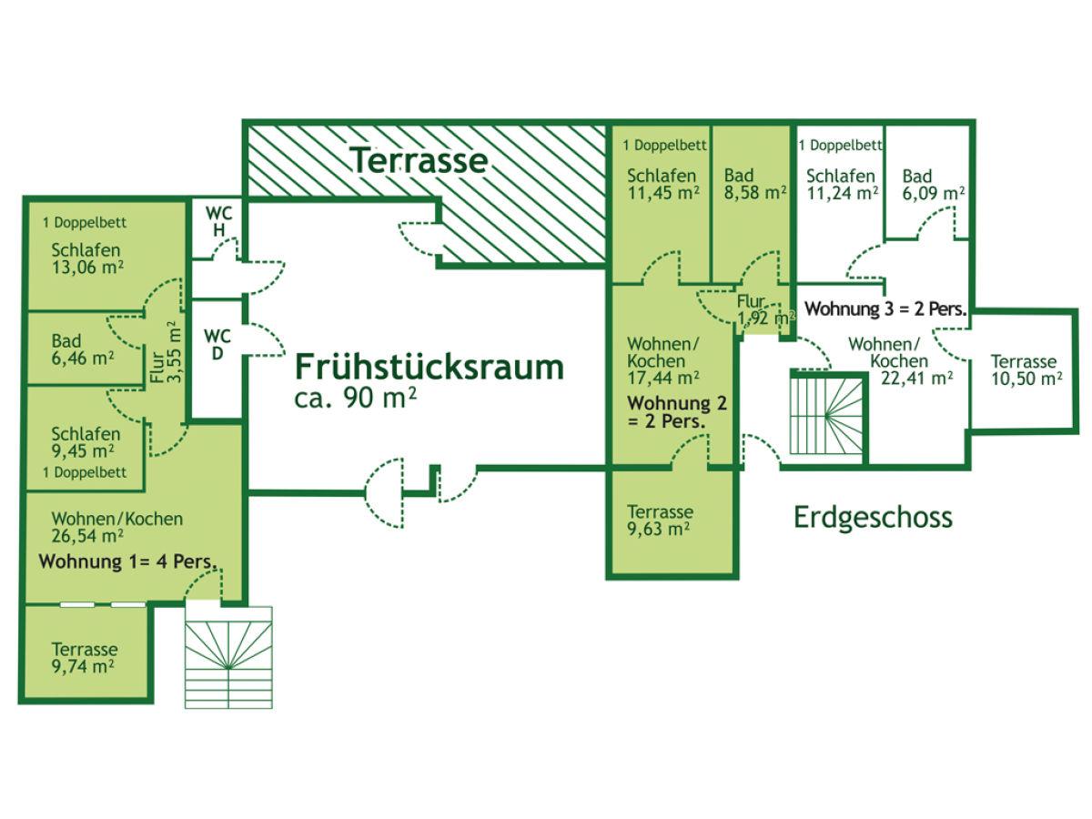 Wohnungen grundriss gr ne aue biesdorf for Moderne grundrisse wohnungen beispiele