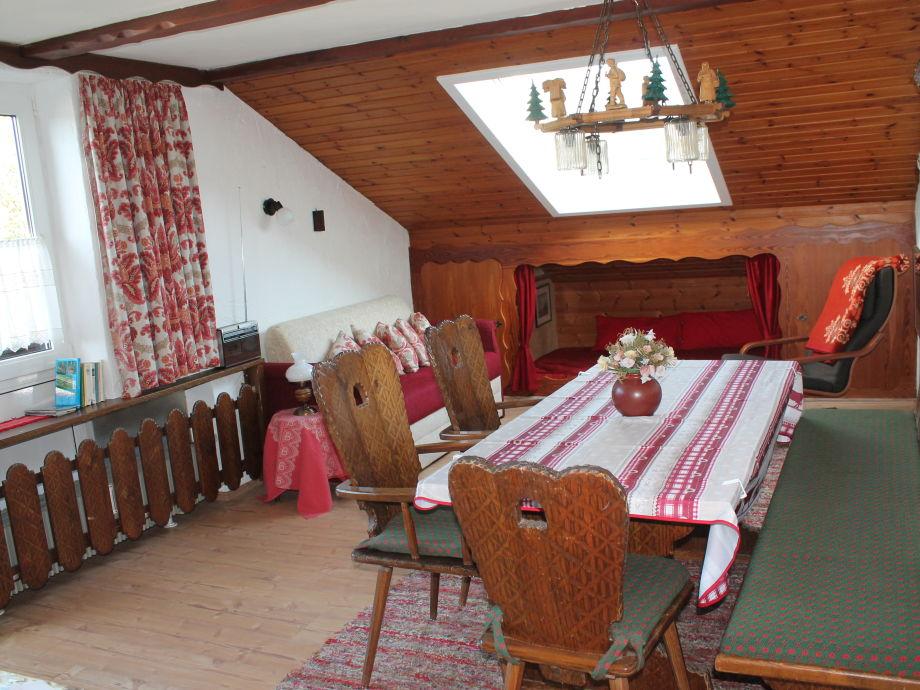 Wohnzimmer mit Schlafkoje