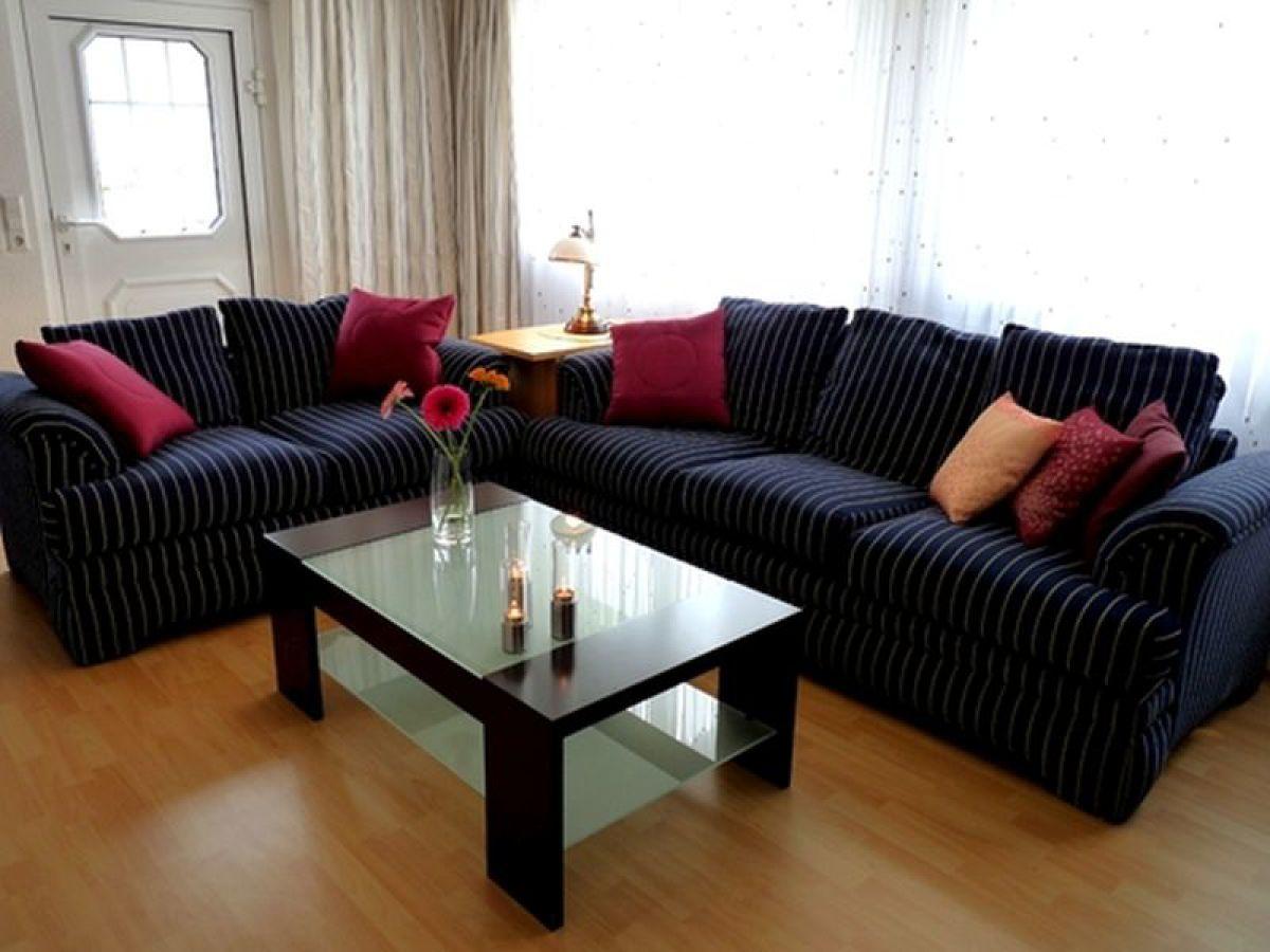 Ferienwohnung in klink mecklenburgische seenplatte for Eingerichtete wohnzimmer