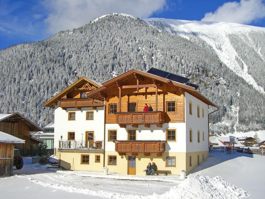 Ferienhaus Lärchenwald im Winter