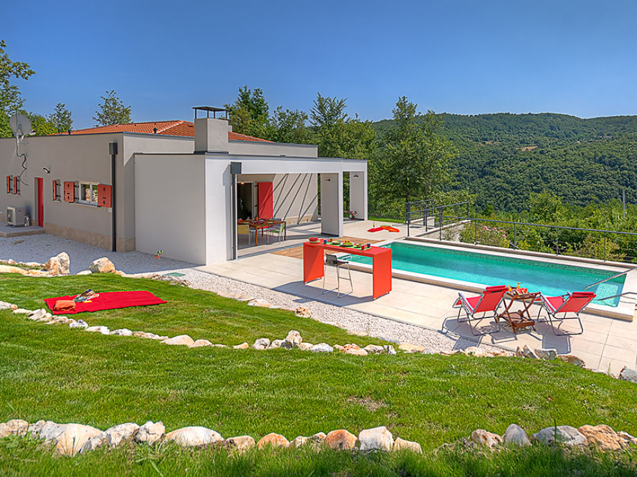 Außenaufnahme Villa Colors