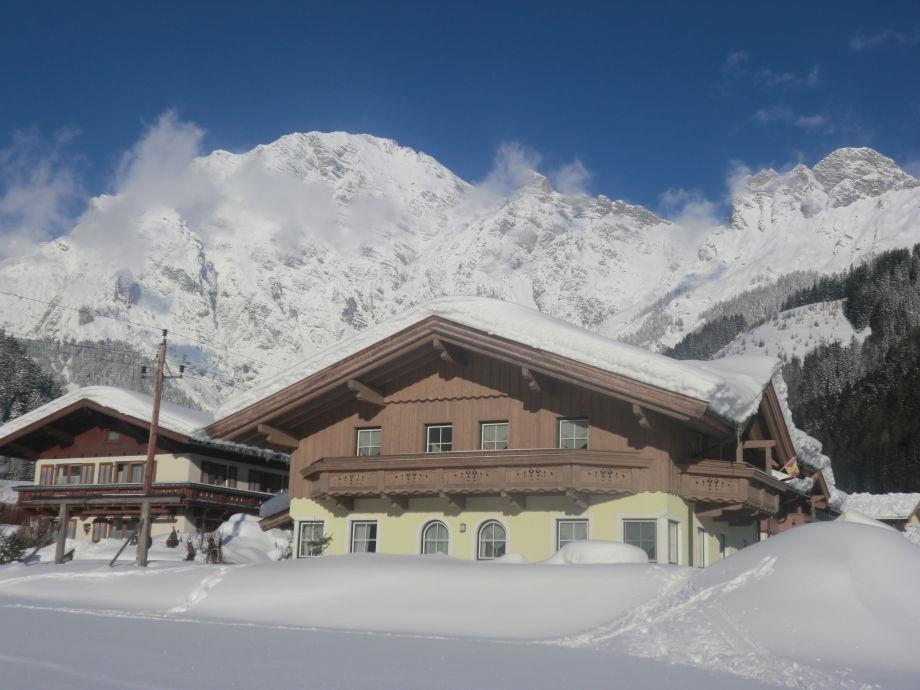 Winter in Leogang Apartmenthaus Scheiber