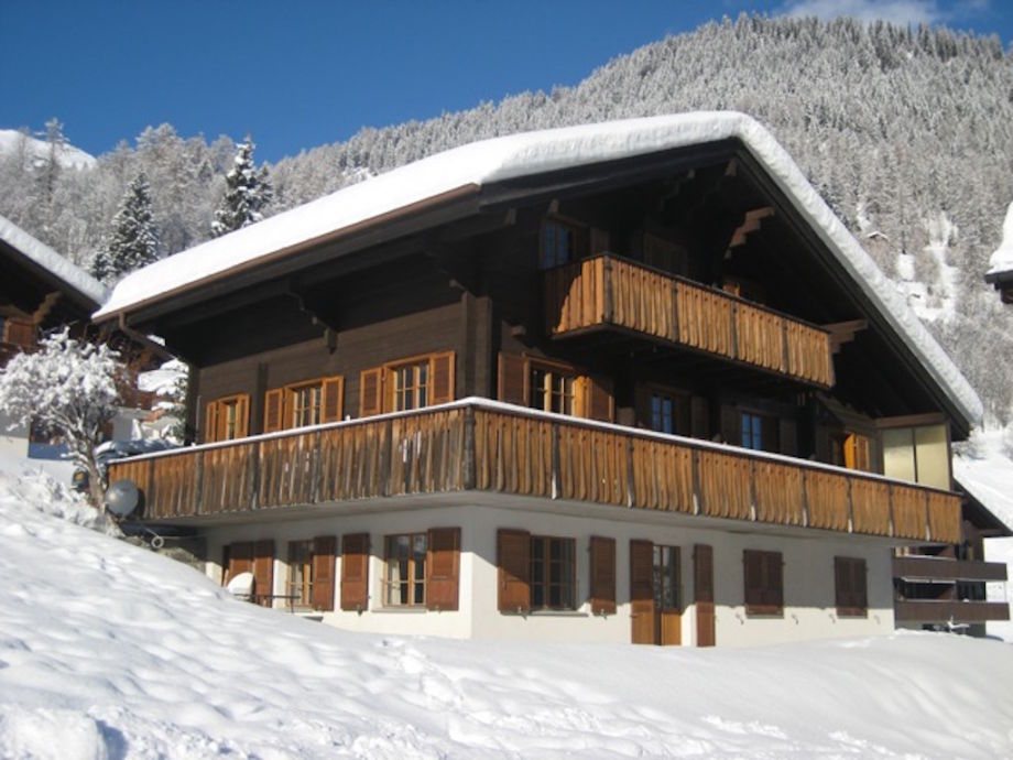 Chalet Woodland Winter