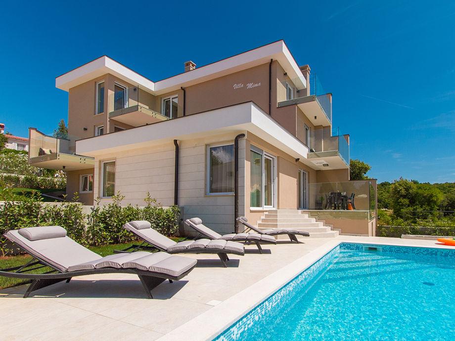 Außenaufnahme Villa Mima