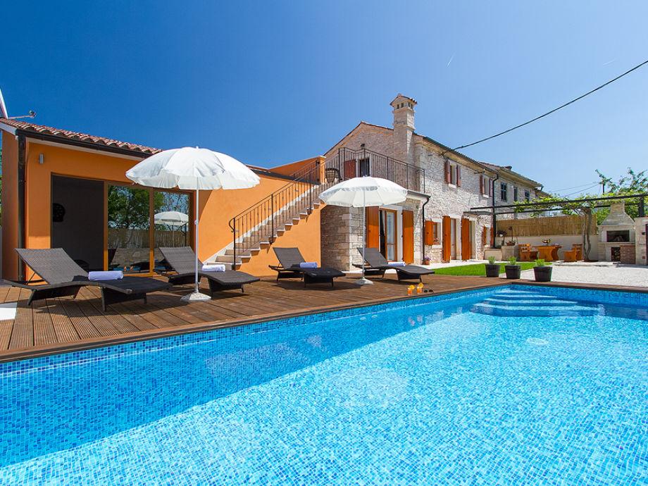 Außenaufnahme Villa Ivka