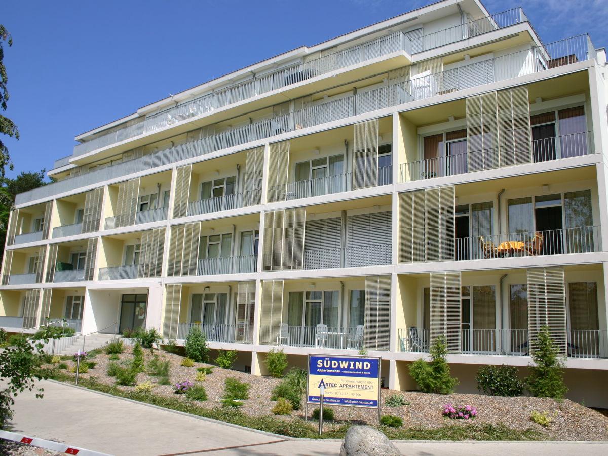 Ferienwohnung Südwind 6, Insel Usedom, Zempin - Firma Artec Gmbh ...