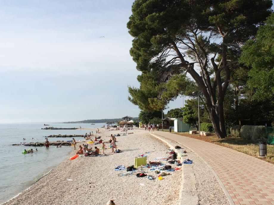 Ferienwohnung N.35, 50 m vom Kiesstrand, Fazana, Istrien ...