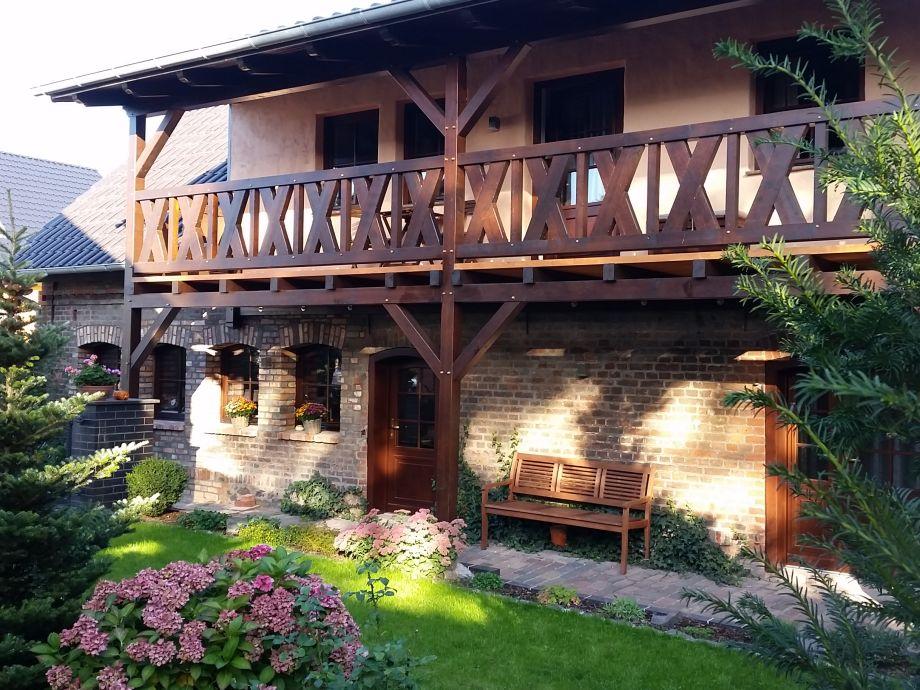Unser Ferienhaus mit der Ferienwohnung