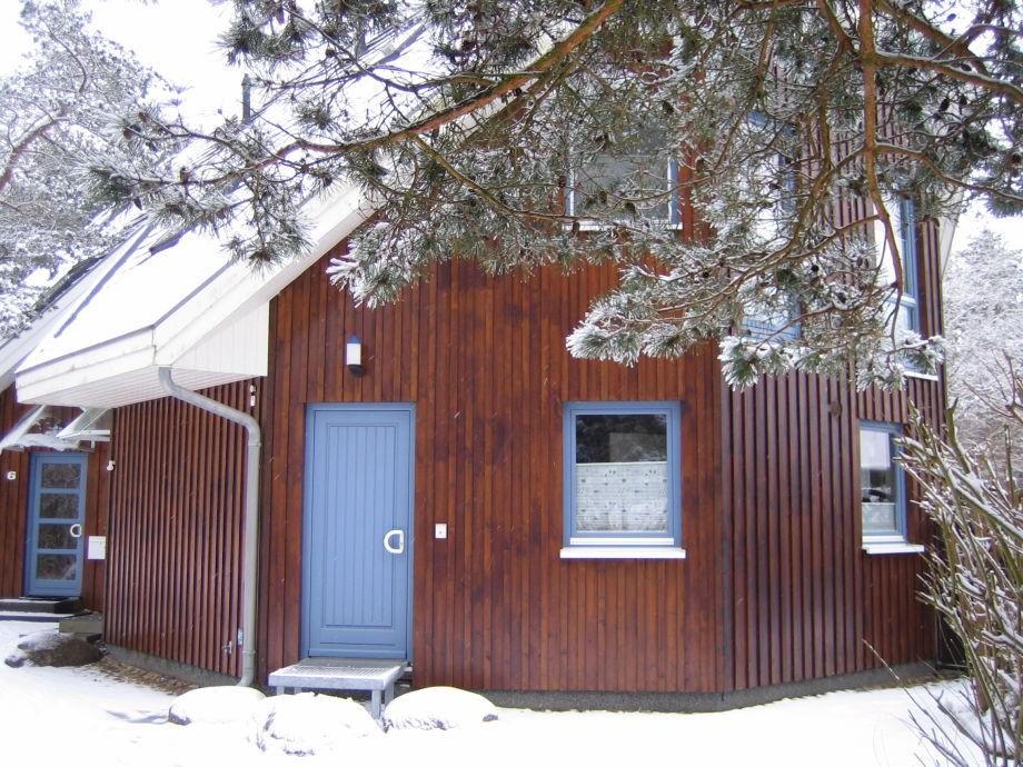 Deichhaus im Winter