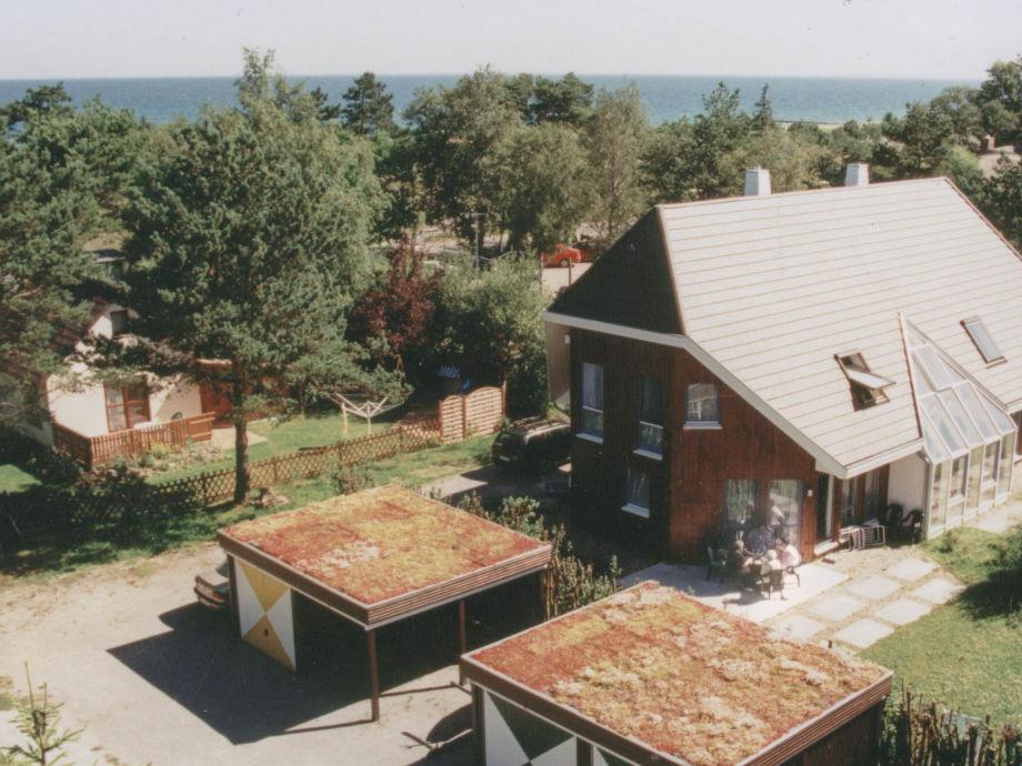 Deichhaus im Sommer